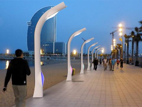 Lampioni Per Arredo Urbano.Arredo Urbano Design Idea D Immagine Di Decorazione